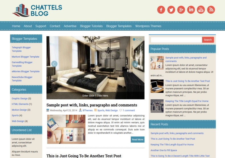 ChattelsBlog Blue Blogger Template. Blogger Themes. Free Blogspot templates for your blogger blog. Best suitable for news blog templates. Ads ready blogspot templates help for add adsense ad code and easily showing adsence ads in your blog. Adapted from WordPress templates are converted from WordPress themes. It is help for take your rich. Blogger magazine template specially designed for magazine blogs. The writers can utilize this themes for take blog attractive to users. Elegant themes are more used themes in most of the blogs. Use minimalist blog templates for rich look for your blog. Free premium blogger themes means, themes authors release two types of themes. One is premium another one is free. Premium templates given for cost but free themes given for no cost. You no need pay From California, USA. $10 USD, or $20 USD and more. But premium buyers get more facilities from authors But free buyers. If you run game or other animation oriented blogs, and you can try with Anime blog templates. Today the world is fashion world. So girls involve to the criteria for make their life fashionable. So we provide fashion blogger themes for make your fashionable. News is most important concept of the world. Download news blogger templates for publishing online news. You can make your blog as online shopping store. Get Online shopping store blogger template to sell your product. Navigation is most important to users find correct place. Download drop down menu, page navigation menu, breadcrumb navigation menu and vertical dropdown menu blogspot themes for free. Google Guide to blogging tips and tricks for bloggers. Google bloggers can get blogspot trick and tips for bloggers. Blog templates portfolio professional blogspot themes, You can store your life moments with your blogs with personal pages templates. Video and movie blogs owners get amazing movie blog themes for their blogs. Business templates download. We publish blogger themes for photographers. Photographers easily share photos via photography blog themes. St valentine Christmas Halloween templates. Download Slideshow slider templates for free. Under construction coming soon custom blogspot template. Best beautiful high quality Custom layouts Blog templates from templateism, SoraTemplates, templatetrackers, simple, cute free premium professional unique designs blog themes blogspot themes. Seo ready portfolio anime fashion movie movies health custom layouts best download blogspot themes simple cute free premium professional unique designs xml html code html5.