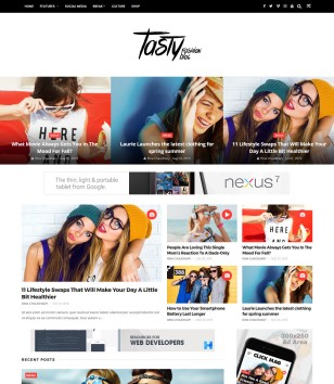 ChicMag Carousel Blogger Templates