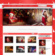 Christmas Blogger Templates