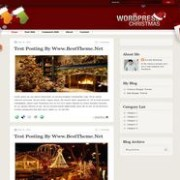 Christmas v1.1 Blogger Template