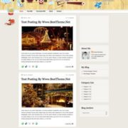 Christmas v2.2 Blogger Templates