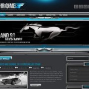 ChromeGT Blogger Template