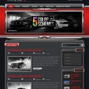 ChromeGT Red Blogger Templates