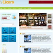 Cicero Blogger Templates