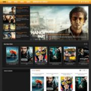 Cinema Movie Blogger Templates