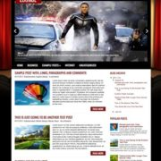 CinemaLounge Blogger Templates