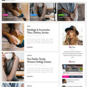 Clara Fashion Blogger Templates