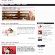 Clean Lilas Blogger Templates
