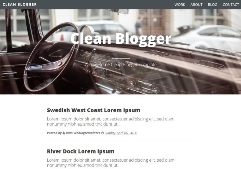 Clean Simple Blogger Template. Blogger Themes. Free Blogspot templates for your blogger blog. Best suitable for news blog templates. Ads ready blogspot templates help for add adsense ad code and easily showing adsence ads in your blog. Adapted from WordPress templates are converted from WordPress themes. It is help for take your rich. Blogger magazine template specially designed for magazine blogs. The writers can utilize this themes for take blog attractive to users. Elegant themes are more used themes in most of the blogs. Use minimalist blog templates for rich look for your blog. Free premium blogger themes means, themes authors release two types of themes. One is premium another one is free. Premium templates given for cost but free themes given for no cost. You no need pay From California, USA. $10 USD, or $20 USD and more. But premium buyers get more facilities from authors But free buyers. If you run game or other animation oriented blogs, and you can try with Anime blog templates. Today the world is fashion world. So girls involve to the criteria for make their life fashionable. So we provide fashion blogger themes for make your fashionable. News is most important concept of the world. Download news blogger templates for publishing online news. You can make your blog as online shopping store. Get Online shopping store blogger template to sell your product. Navigation is most important to users find correct place. Download drop down menu, page navigation menu, breadcrumb navigation menu and vertical dropdown menu blogspot themes for free. Google Guide to blogging tips and tricks for bloggers. Google bloggers can get blogspot trick and tips for bloggers. Blog templates portfolio professional blogspot themes, You can store your life moments with your blogs with personal pages templates. Video and movie blogs owners get amazing movie blog themes for their blogs.  Business templates download. We publish blogger themes for photographers.  Photographers easily share photos via photography blog themes. St valentine Christmas Halloween templates. Download Slideshow slider templates for free.  Under construction coming soon custom blogspot template. Best beautiful high quality Custom layouts Blog templates from templateism, soratemplates, templatetrackers, simple, cute free premium professional unique designs blog themes blogspot themes. Seo ready portfolio anime fashion movie movies health custom layouts best download blogspot themes simple cute free premium professional unique designs xml html code html5.