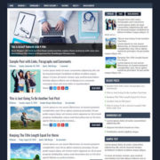 Clear Business Blogger Templates