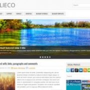 Clieco Blogger Template