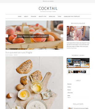 CockTail Blogger Templates