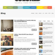 Colored Blogger Templates