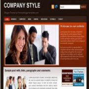 Company Style Blogger Templates