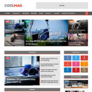 Cool Mag Blogger Templates