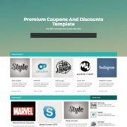 Couponism Blogger Templates