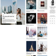 Creative Blog Blogger Templates