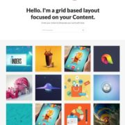 Creative Light Blogger Templates