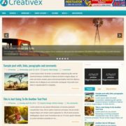 Creativex Blogger Templates