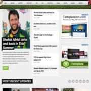 Cricket Mag Blogger Templates