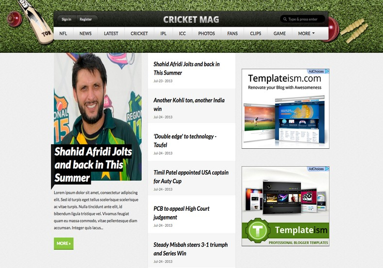 Cricket Mag Blogger Template. Free Blogger templates. Blog templates. Template blogger, professional blogger templates free. blogspot themes, blog templates. Template blogger. blogspot templates 2013. template blogger 2013, templates para blogger, soccer blogger, blog templates blogger, blogger news templates. templates para blogspot. Templates free blogger blog templates. Download 1 column, 2 column. 2 columns, 3 column, 3 columns blog templates. Free Blogger templates, template blogger. 4 column templates Blog templates. Free Blogger templates free. Template blogger, blog templates. Download Ads ready, adapted from WordPress template blogger. blog templates Abstract, dark colors. Blog templates magazine, Elegant, grunge, fresh, web2.0 template blogger. Minimalist, rounded corners blog templates. Download templates Gallery, vintage, textured, vector, Simple floral. Free premium, clean, 3d templates. Anime, animals download. Free Art book, cars, cartoons, city, computers. Free Download Culture desktop family fantasy fashion templates download blog templates. Food and drink, games, gadgets, geometric blog templates. Girls, home internet health love music movies kids blog templates. Blogger download blog templates Interior, nature, neutral. Free News online store online shopping online shopping store. Free Blogger templates free template blogger, blog templates. Free download People personal, personal pages template blogger. Software space science video unique business templates download template blogger. Education entertainment photography sport travel cars and motorsports. St valentine Christmas Halloween template blogger. Download Slideshow slider, tabs tapped widget ready template blogger. Email subscription widget ready social bookmark ready post thumbnails under construction custom navbar template blogger. Free download Seo ready. Free download Footer columns, 3 columns footer, 4columns footer. Download Login ready, login support template blogger. Drop down menu vertical drop down menu page navigation menu breadcrumb navigation menu. Free download Fixed width fluid width responsive html5 template blogger. Free download Blogger Black blue brown green gray, Orange pink red violet white yellow silver. Sidebar one sidebar 1 sidebar 2 sidebar 3 sidebar 1 right sidebar 1 left sidebar. Left sidebar, left and right sidebar no sidebar template blogger. Blogger seo Tips and Trick. Blogger Guide. Blogging tips and Tricks for bloggers. Seo for Blogger. Google blogger. Blog, blogspot. Google blogger. Blogspot trick and tips for blogger. Design blogger blogspot blog. responsive blogger templates free. free blogger templates.Blog templates. Cricket Mag Blogger Template. Cricket Mag Blogger Template. Cricket Mag Blogger Template.