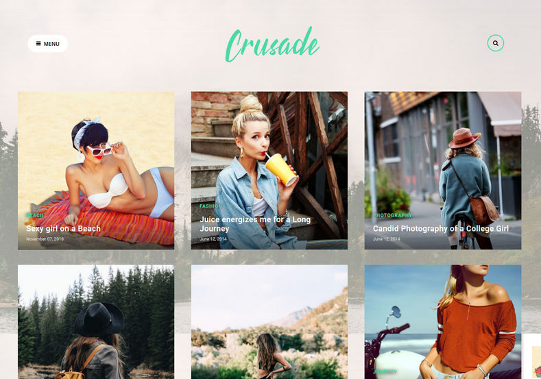 Crusade Blogger Template is a portfolio based minimal blogger theme which is perfect for photography bloggers