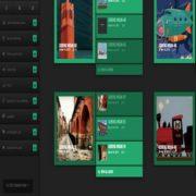 DCM V2 Spring Green Responsive Blogger Templates