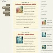 Daily Journal Blogger Templates