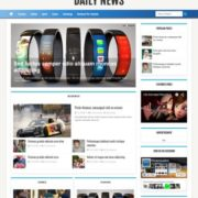 Daily News Blogger Templates