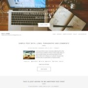 Daily Theme Blogger Templates