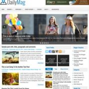 DailyMag Blogger Templates
