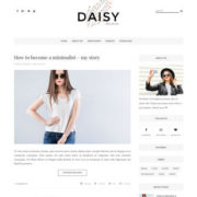 Daisy Clean Personal Blogger Templates