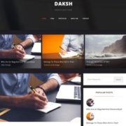 Daksh Blogger Templates