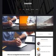 Daksh Blogger Templates