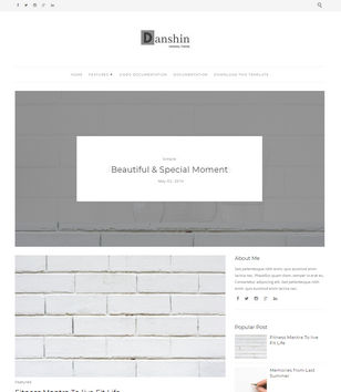 Danshin Blogger Templates