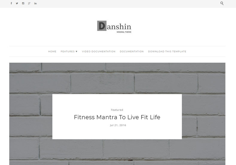 Danshin Blogger Template is an fast loading, elegant and classy blogger theme, Tailored with simplicity it is the most stylish and perfectly coded theme for female entrepreneurs and girly bloggers