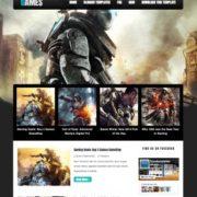 Dark Mag Games Blogger Templates