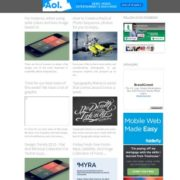 Dazzling Blogger Templates