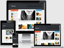 Decorus Responsive Blogger Template