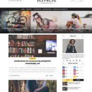 Deep Blog Blogger Templates
