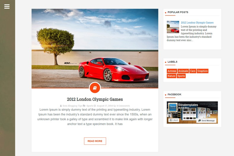 Deep Views Blogger Template is perfect choice for blog, news, magazine, entertainment and portfolio blogspot sites
