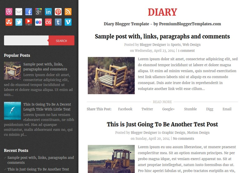 Diary Personal Blogger Template. Blogger Themes. Free Blogspot templates for your blogger blog. Best suitable for news blog templates. Ads ready blogspot templates help for add adsense ad code and easily showing adsence ads in your blog. Adapted from WordPress templates are converted from WordPress themes. It is help for take your rich. Blogger magazine template specially designed for magazine blogs. The writers can utilize this themes for take blog attractive to users. Elegant themes are more used themes in most of the blogs. Use minimalist blog templates for rich look for your blog. Free premium blogger themes means, themes authors release two types of themes. One is premium another one is free. Premium templates given for cost but free themes given for no cost. You no need pay From California, USA. $10 USD, or $20 USD and more. But premium buyers get more facilities from authors But free buyers. If you run game or other animation oriented blogs, and you can try with Anime blog templates. Today the world is fashion world. So girls involve to the criteria for make their life fashionable. So we provide fashion blogger themes for make your fashionable. News is most important concept of the world. Download news blogger templates for publishing online news. You can make your blog as online shopping store. Get Online shopping store blogger template to sell your product. Navigation is most important to users find correct place. Download drop down menu, page navigation menu, breadcrumb navigation menu and vertical dropdown menu blogspot themes for free. Google Guide to blogging tips and tricks for bloggers. Google bloggers can get blogspot trick and tips for bloggers. Blog templates portfolio professional blogspot themes, You can store your life moments with your blogs with personal pages templates. Video and movie blogs owners get amazing movie blog themes for their blogs. Business templates download. We publish blogger themes for photographers. Photographers easily share photos via photography blog themes. St valentine Christmas Halloween templates. Download Slideshow slider templates for free. Under construction coming soon custom blogspot template. Best beautiful high quality Custom layouts Blog templates from templateism, soratemplates, templatetrackers, simple, cute free premium professional unique designs blog themes blogspot themes. Seo ready portfolio anime fashion movie movies health custom layouts best download blogspot themes simple cute free premium professional unique designs xml html code html5.