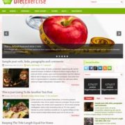 DietExercise Blogger Templates