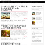 Diginews Blogger Templates