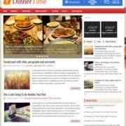 DinnerTime Blogger Templates