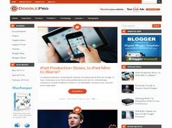 Doodle Pro Responsive Blogger Template