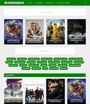 Download Hub Blogger Templates