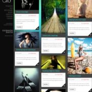 Dream Grid Responsive Blogger Templates