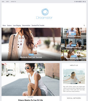Dreamster Blogger Templates