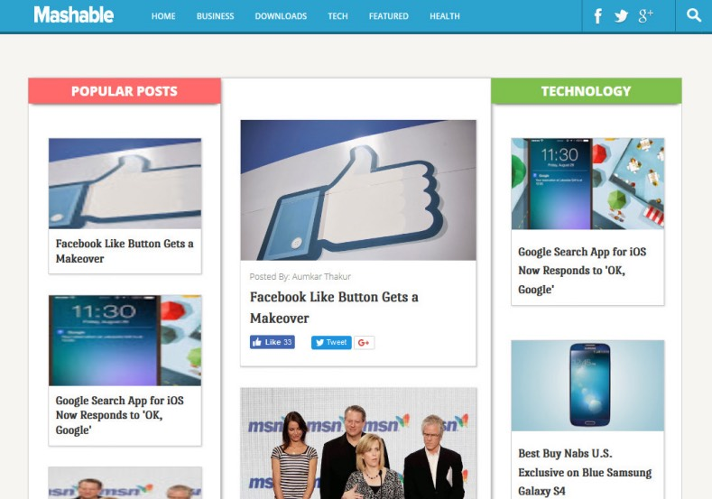 Dynamo Multimedia Blogger Template Free Templates Blog Professional
